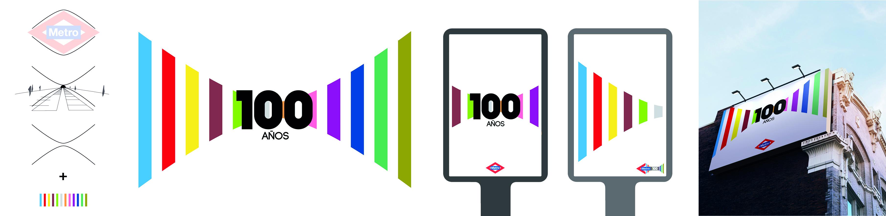 Propuesta para el centenario de Metro de Madrid